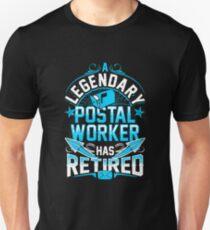 Retired Postal Worker Unisex T-Shirt
