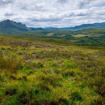 Peaks of Ben Loyal and Ben Hope Scottish Highlands by emergentdesigns
