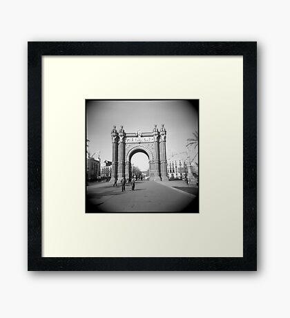 Arco del Triunfo Framed Print