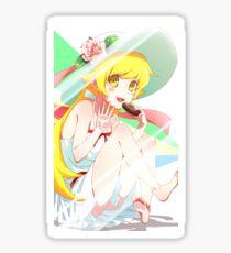 Anime Vampire Girl Shinobu Waifu Sticker