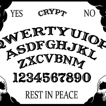 QWERTY Ouija talking board!  by Richicrypt