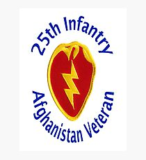 25th Infantry - Afghanistan Veteran Photographic Print