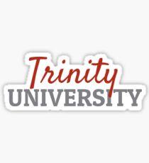 Trinity Universität Sticker