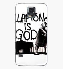 Clapton T-shirt | Clapton is God Case/Skin for Samsung Galaxy