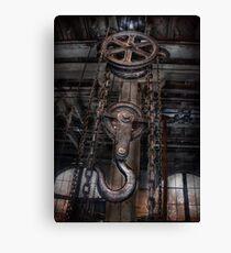 Steampunk - Industrial Strength Canvas Print