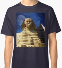 Sphinx  and Pyramid Classic T-Shirt