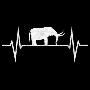 Mammoth Mammoths Elephant Elephants Heartbeat Primeval Gift by ninarts