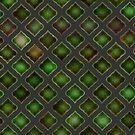 Greeny-dark Tile by Etakeh