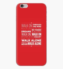 Liverpool FC You'll never walk alone iPhone Case