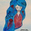 Red jellyfish by Nadine Feghaly