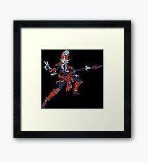 Bloodmoon Kalista Framed Print