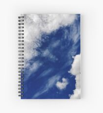 'A' in the Clouds Spiral Notebook
