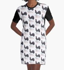 Rooster Blood Graphic T-Shirt Dress