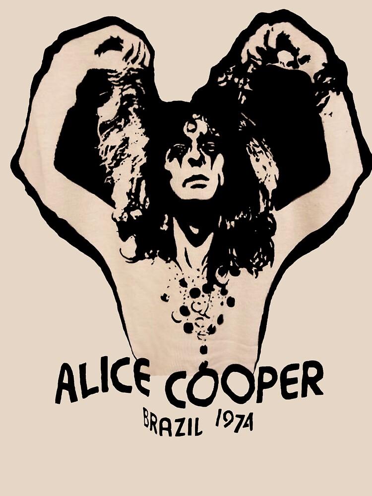 Alice Cooper Brazil 1974 by oonchelog