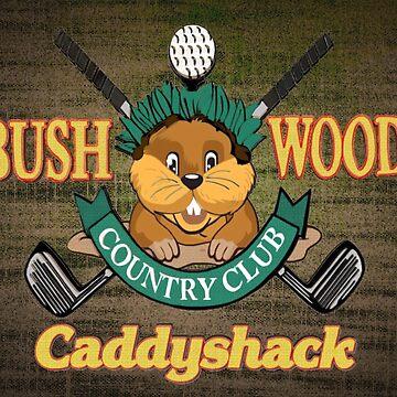 Bushwood Country Club by Italianricanart
