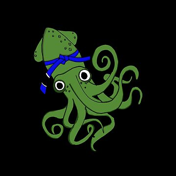A Green Squid by stuch75