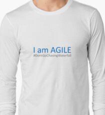 Agile vs Waterfall Development Long Sleeve T-Shirt