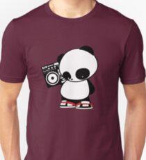 Hip Hop Panda Unisex T-Shirt