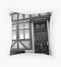 Geometric Facade Throw Pillow