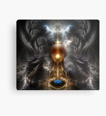 Orb Of Light Metal Print