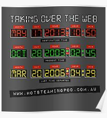 Hot Steaming Pod - Time to take over the net! Poster