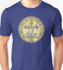 TENNESSEE STATE SEAL - POPULAR DISTRESSED STATE DESIGN WITH TENNESSEE STATE SEAL Unisex T-Shirt