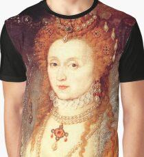 Elizabeth I Portrait Graphic T-Shirt