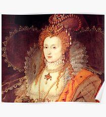Elizabeth I Portrait Poster