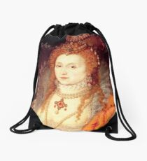 Elizabeth I Portrait Drawstring Bag