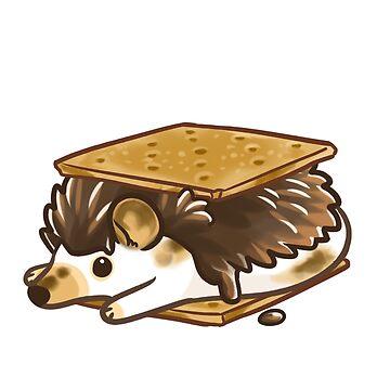 S'mores hedgehog by pawlove