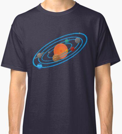 Pixel Planet Solar System Classic T-Shirt