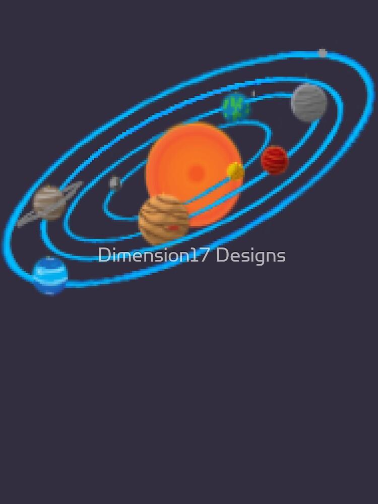 Pixel Planet Solar System by CarryOnWayward