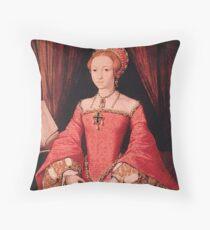 Elizabeth I Portrait princesse Coussin