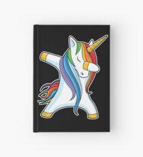 Dabbing Unicorn Shirt Cute Funny Unicorns T shirt Gifts for Kids Girls Boys Women Men Hardcover Journal