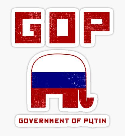 GOP Government of Putin Sticker