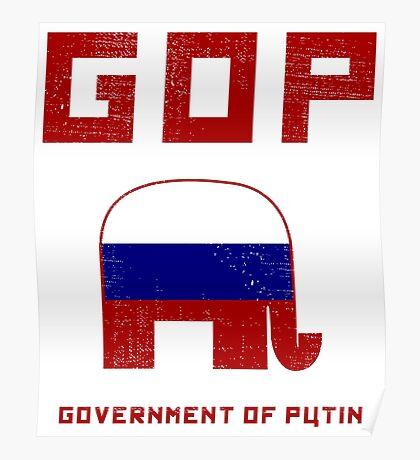 GOP Government of Putin Poster