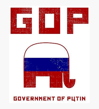 GOP Government of Putin Photographic Print