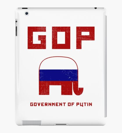 GOP Government of Putin iPad Case/Skin