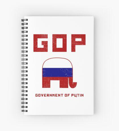 GOP Government of Putin Spiral Notebook