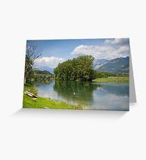 Lago di Como Greeting Card