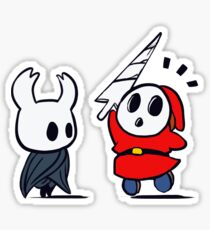Hollow Shy Guy Sticker