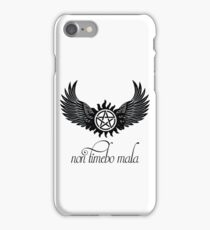 non timebo mala iPhone Case/Skin