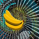cosmic space bananas by Jimmy Joe