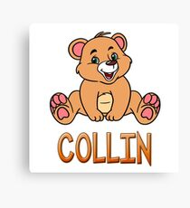Collin Bear Mug Canvas Print