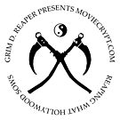 Grim D. Reaper YinYang Scythes Logo by moviecrypt