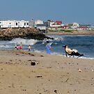 Matunuck Beach Series - Americans Enjoy The Sea,  2009.07.27 by Jack McCabe
