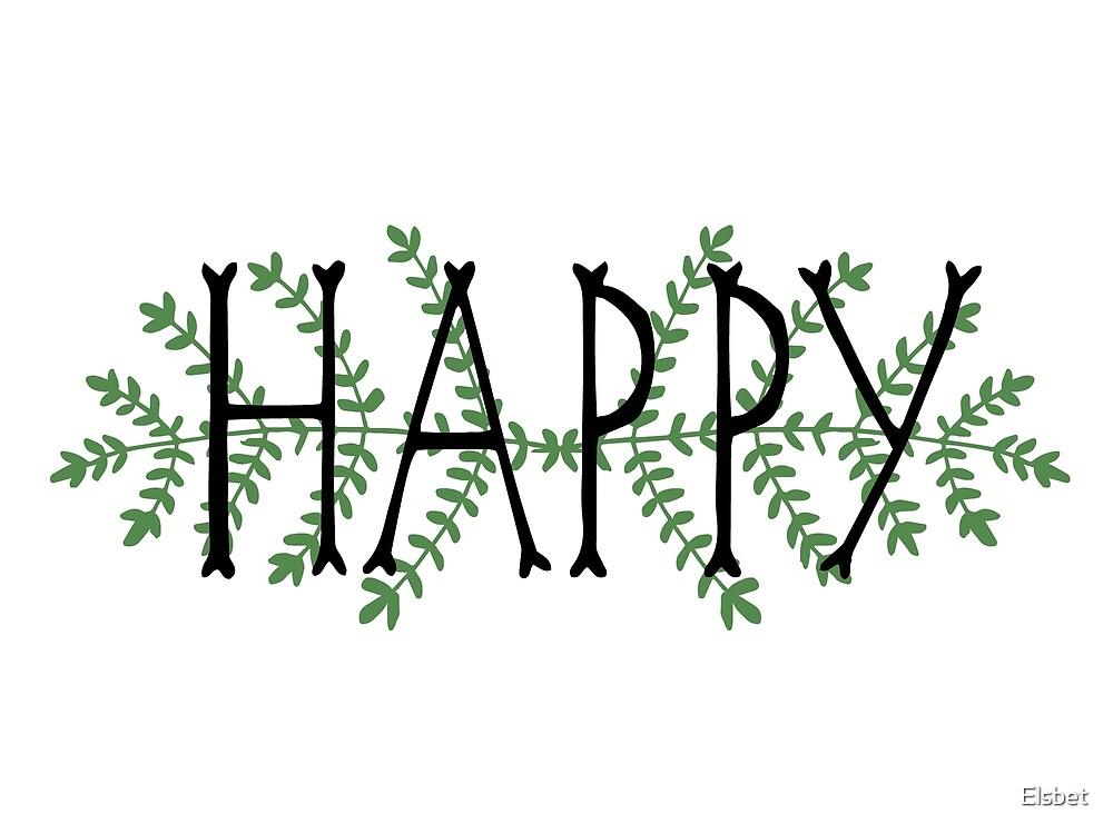 Happy fern by Elsbet