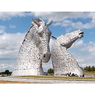 The Kelpies, Helix Park , Scotland by David Rankin