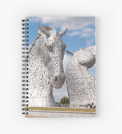 The Kelpies, Helix Park , Scotland Spiral Notebook