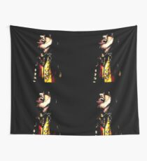 Johannes - Tongue Out Wall Tapestry